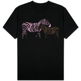 Pink Zebra T-shirts