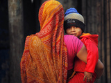 India 7 Billion People Photographic Print by Rajesh Kumar Singh