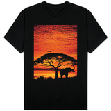 Elephant Under Broad Tree T-shirts