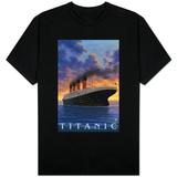 Titanic Scene - White Star Line T-Shirt