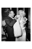 Ciro's Owner Herbert Hover and Marilyn Monroe Kunstdrucke von Frank Worth