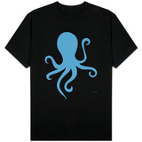 Blue Octopus T-shirts