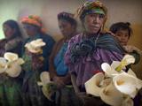 APTOPIX Guatemala Burial Photographic Print by Rodrigo Abd