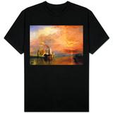 """La """"Valorosa Temeraire"""" trainata al suo ultimo ancoraggio prima di essere demolita, prima del 1839 T-Shirt"""