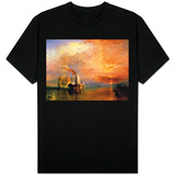 O Fighting Temeraire preso a seu último ancoradouro para ser destruído, antes de 1839 Camiseta