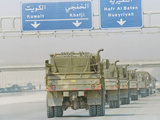 Saudi Arabia Army U.S Forces Mech. Equipment Kuwait Crisis Photographic Print by Diether Endlicher
