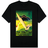San Sebastian Vintage Poster - Europe T-Shirt