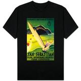 San Sebastian Vintage Poster - Europe T-Shirt