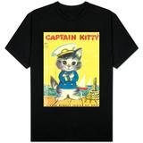 Captain Kitty T-skjorter