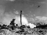 WWII U.S. Marines Eniwetok Photographic Print by  Anonymous