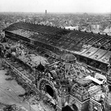 WWII Cologne Railway Station Photographic Print by  Anonymous