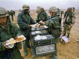 1991 Gulf War Photographic Print by Peter Dejong