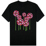 Pink Allium T-shirts