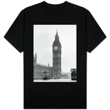 Big Ben and Westminister Bridge circa 1930 T-Shirt