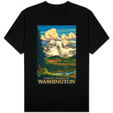 Paradise Inn, Mt. Rainier National Park, Washington Shirts
