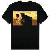 Disiplene Peter og Johannes kjører til graven på oppstandelsens morgen, ca. 1898 Skjorter