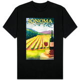 Sonoma County, California Wine Country Shirt