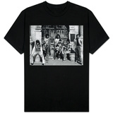 The Rolling Stones Outside the Alamo in Texas During a 1975 US Tour T-Shirts