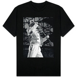 Queen Rock Group, Freddie Mercury in Concert at St. James Park in Newcastle 1986 T-Shirt