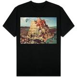 Babels tårn T-skjorter