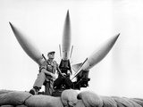 Vietnam War U.S. Hawk Missiles Photographic Print by  Associated Press