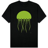 Green Jellyfish T-shirts