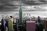 New York-Colour Splash Prints
