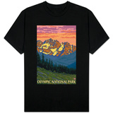 Spring Flowers, Olympic National Park T-shirts