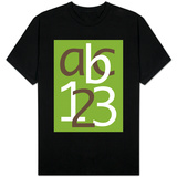 Green ABC and 123 T-Shirt