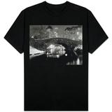 Dam i New York om vinteren T-skjorte