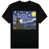 Noche estrellada Remera