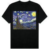 Noite estrelada T-Shirts