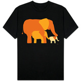 Orange Elephants T-shirts
