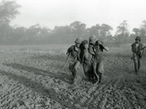 Viet Cong Attack Photographic Print by  Associated Press
