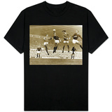Manchester United vs. Arsenal, Football Match at Old Trafford, October 1967 T-Shirt