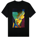 Guitar on a Table T-Shirt