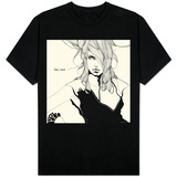 Lady in Black T-shirts