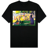 Sunday at La Grande Jatte T-Shirt