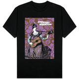 Victorian Woman Playing Guitar Shirts