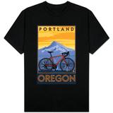 Portland, Oregon, Mountain Bike Scene Skjorter