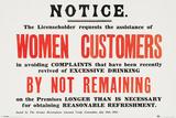 Women Customers Plakat
