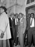 Bus Boycott Trial King Photographic Print by Gene Herrick