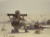 Operation Desert Shield Reproduction photographique par  Associated Press