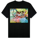 Four Ballerinas on the Stage T-shirts