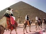 Egypt Pyramid Robot Photographic Print by Mohammad Al Sehety