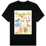 Road to Noah's Ark T-shirts