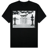 Torii Gate in Water T-shirts