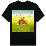 Going on a Picnic with Mama Bear T-shirts
