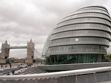 Britain London City Hall Photographic Print by Sang Tan