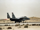 Gulf War U.S. Troops Air Force Photographic Print by Greg Gibson